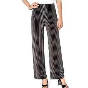 Alfani Striped Wide-leg Pants